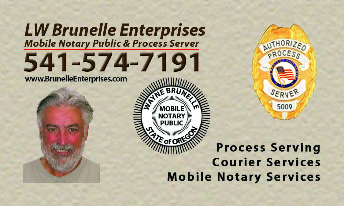 LW Brunelle Enterprises - Process Service