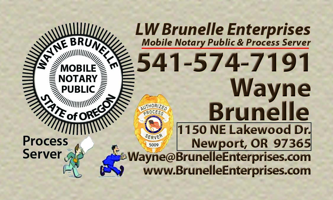 LW Brunelle Enterprises Print Design